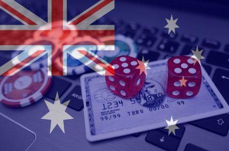 Online Casino, Australien, australische Flagge