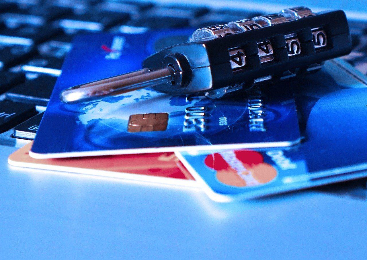 Kreditkarten Schloss