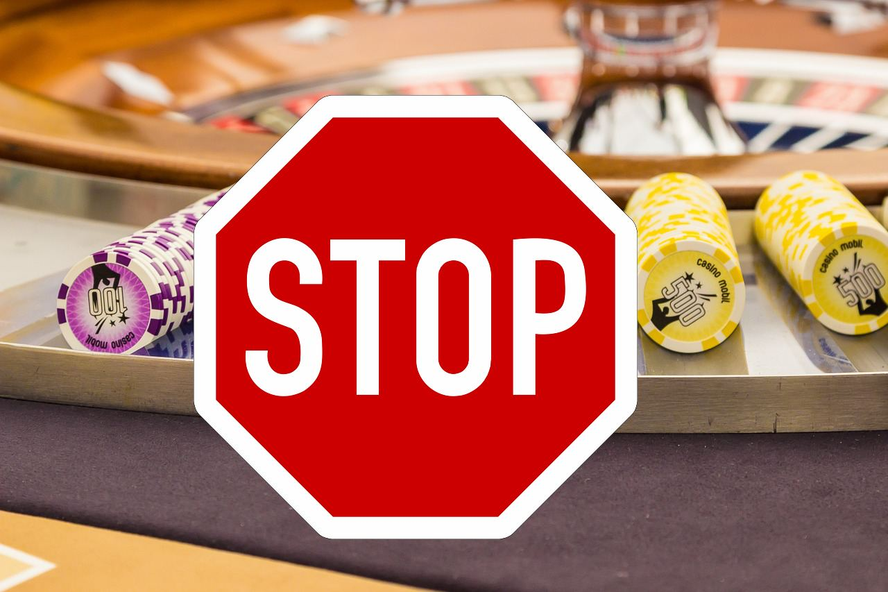 Stopp Spielchips