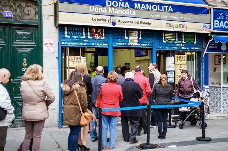 Lottoannahmestelle Madrid, Doña Manolita
