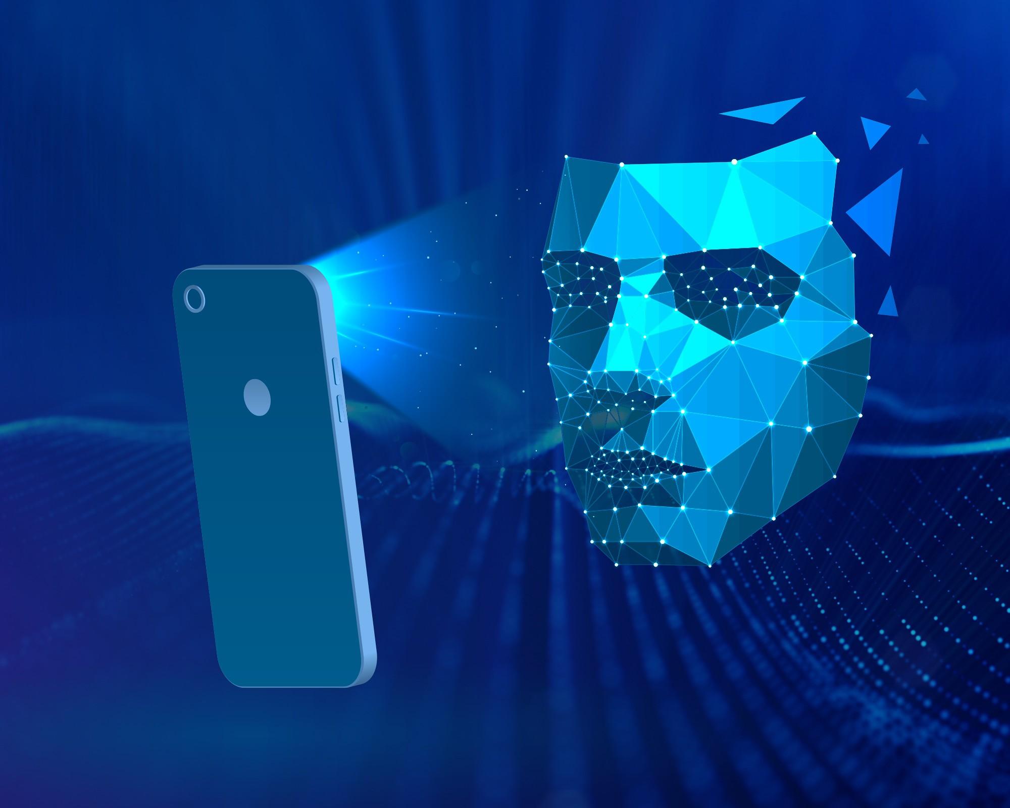 Smartphone, Gesicht