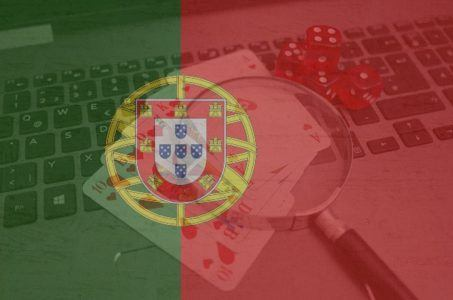 Portugal, Online Casinos. Fahne Portugal