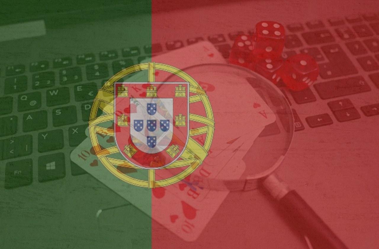 Portugal, Online Casinos. Fahne Portugal