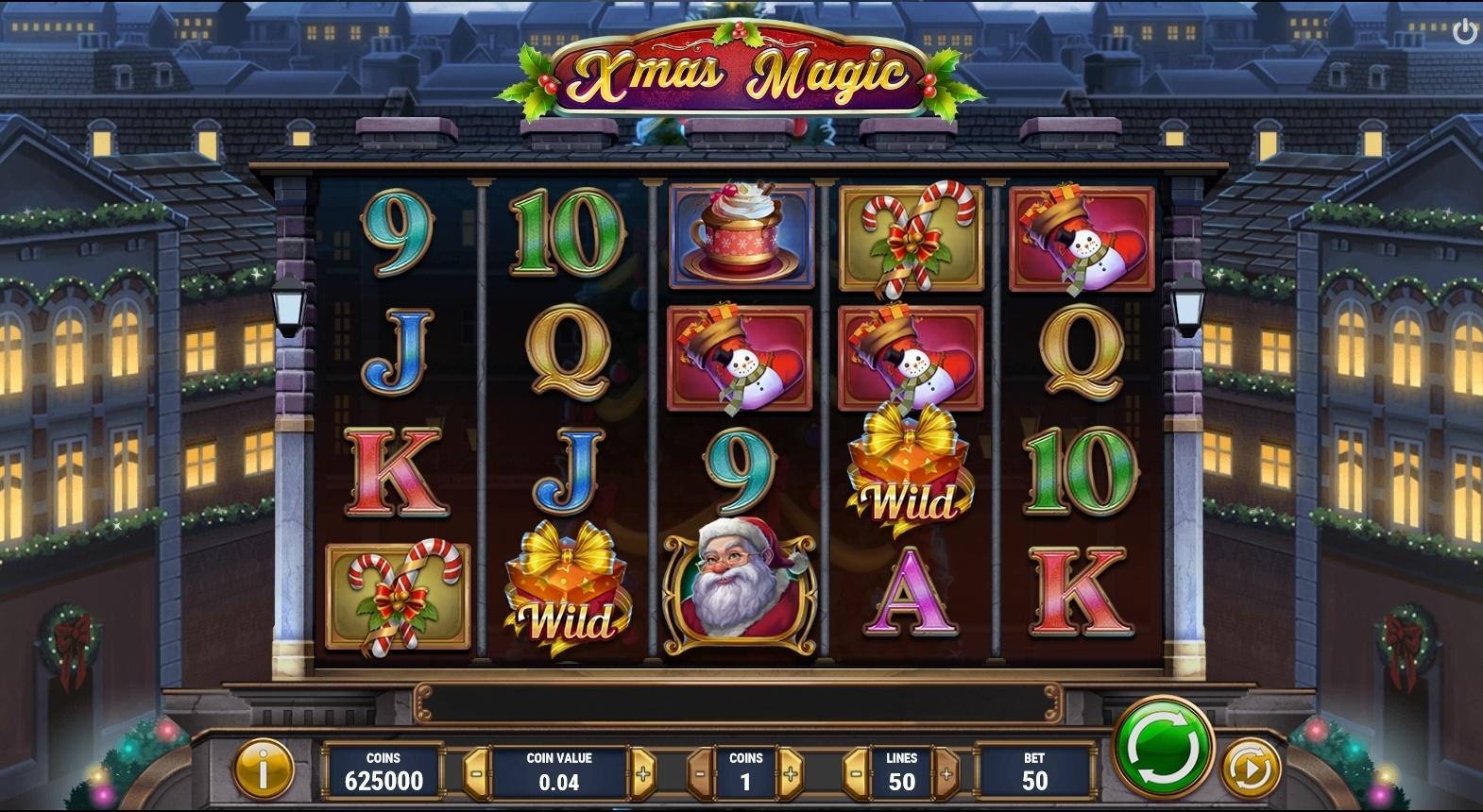 Xmas Magic Spielautomat online