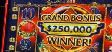 Bonusgewinn am Spielautomaten