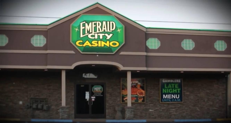 Emerald City Casino, Gebäude, Schild