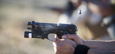 Pistole, Hände, Schüsse