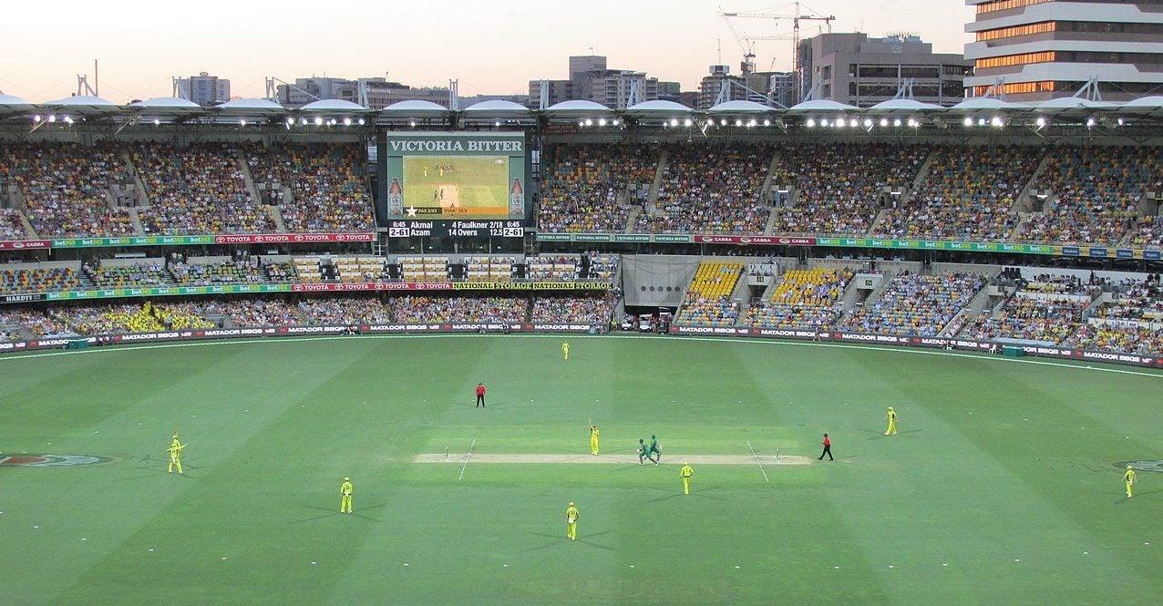 Stadion in Victoria, Australien