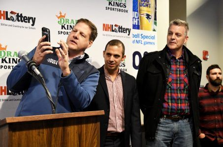 Gouverneur Chris Sununu, Matt Kalish, Rob Ninkovich