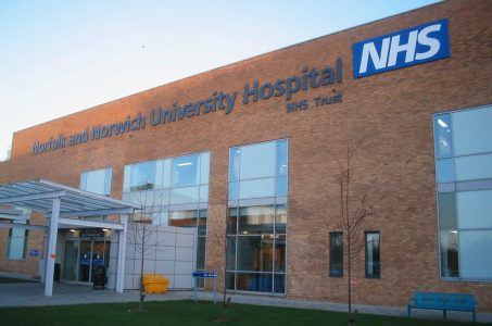 NHS-Krankenhaus Norfolk