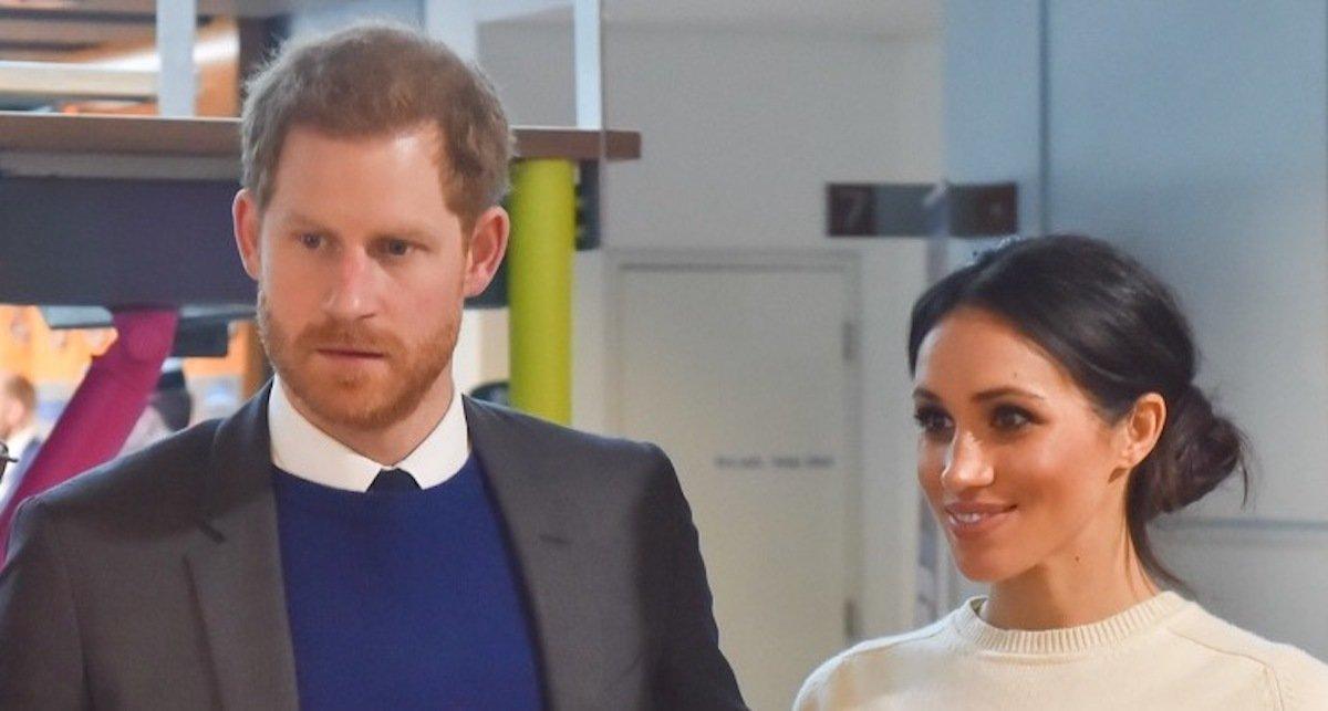 Prinz Harry und Meghan Markle besuchen Catalyst Inc