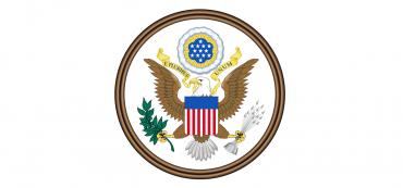 Adler, US-Flagge, Logo