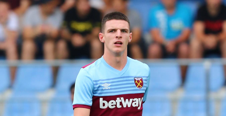 Fußballer Declan Rice