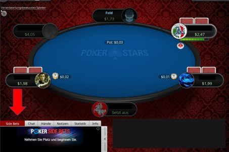 Pokertisch, Online Poker