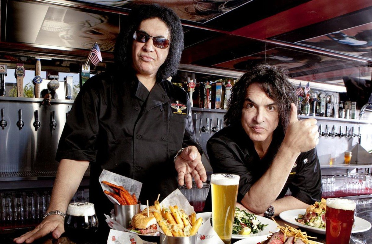 Gene Simmons Paul Stanley Rock Brews