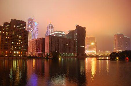 Macau, Casinos, Macau bei Nacht