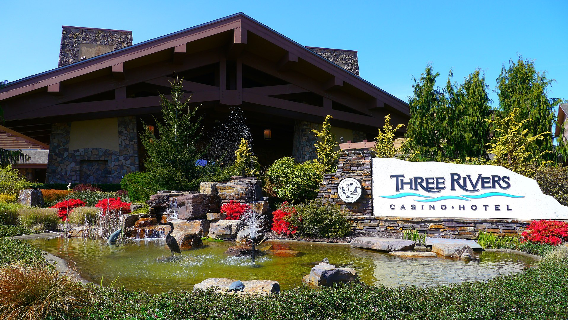Three Rivers Casino in Florence, Oregon