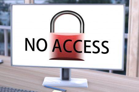 Monitor, no access