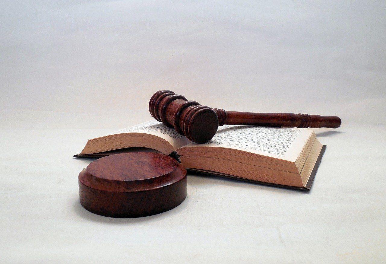 Gerichtshammer, Hammer, Gesetzbuch, Gericht