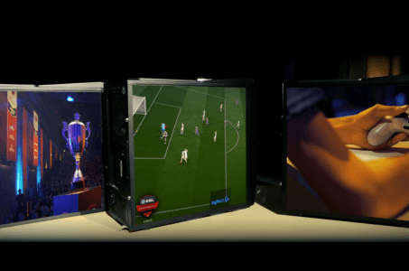 Monitore, E-Sport, Fußball