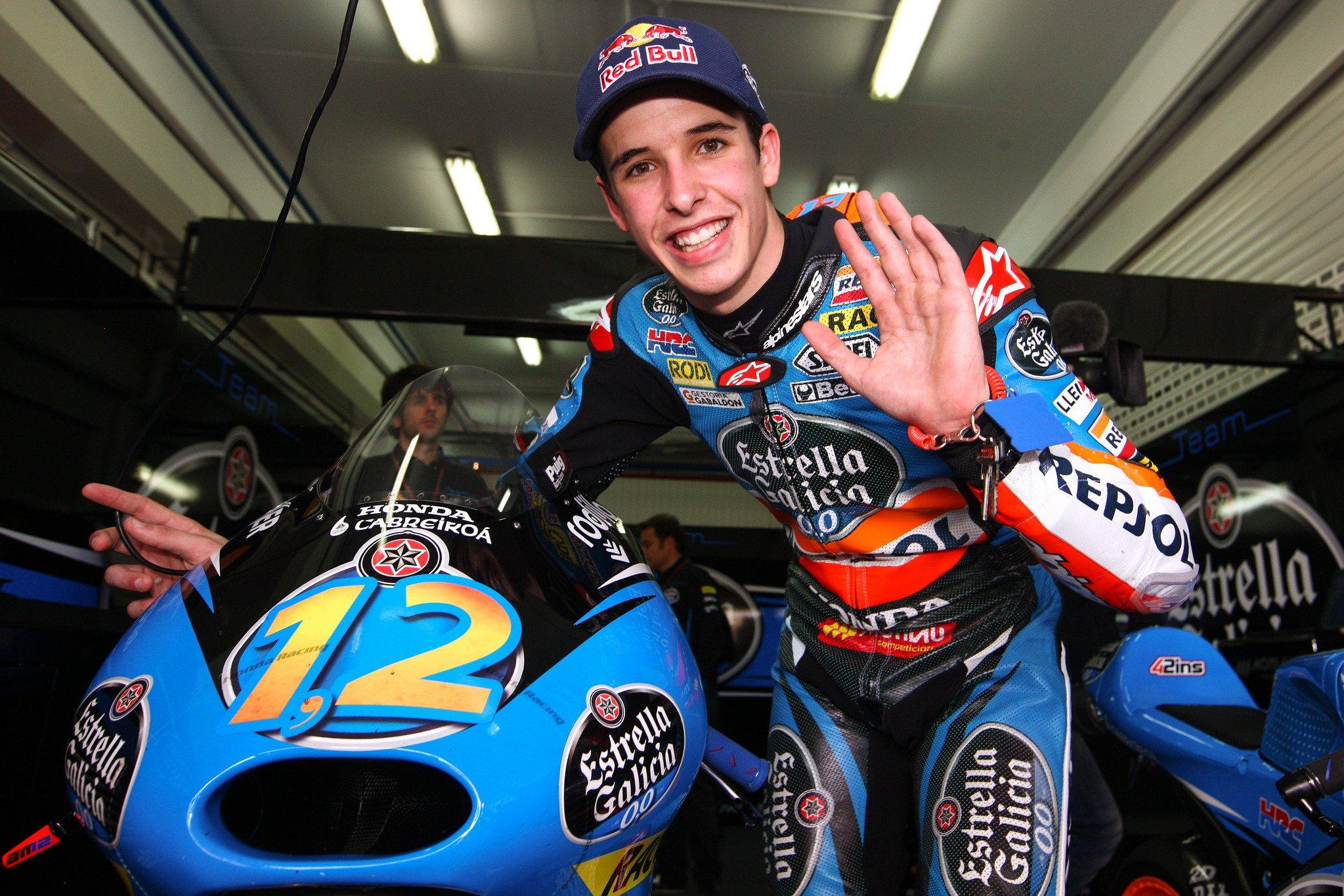 Álex Márquez, spanischer Motorradrennfahrer