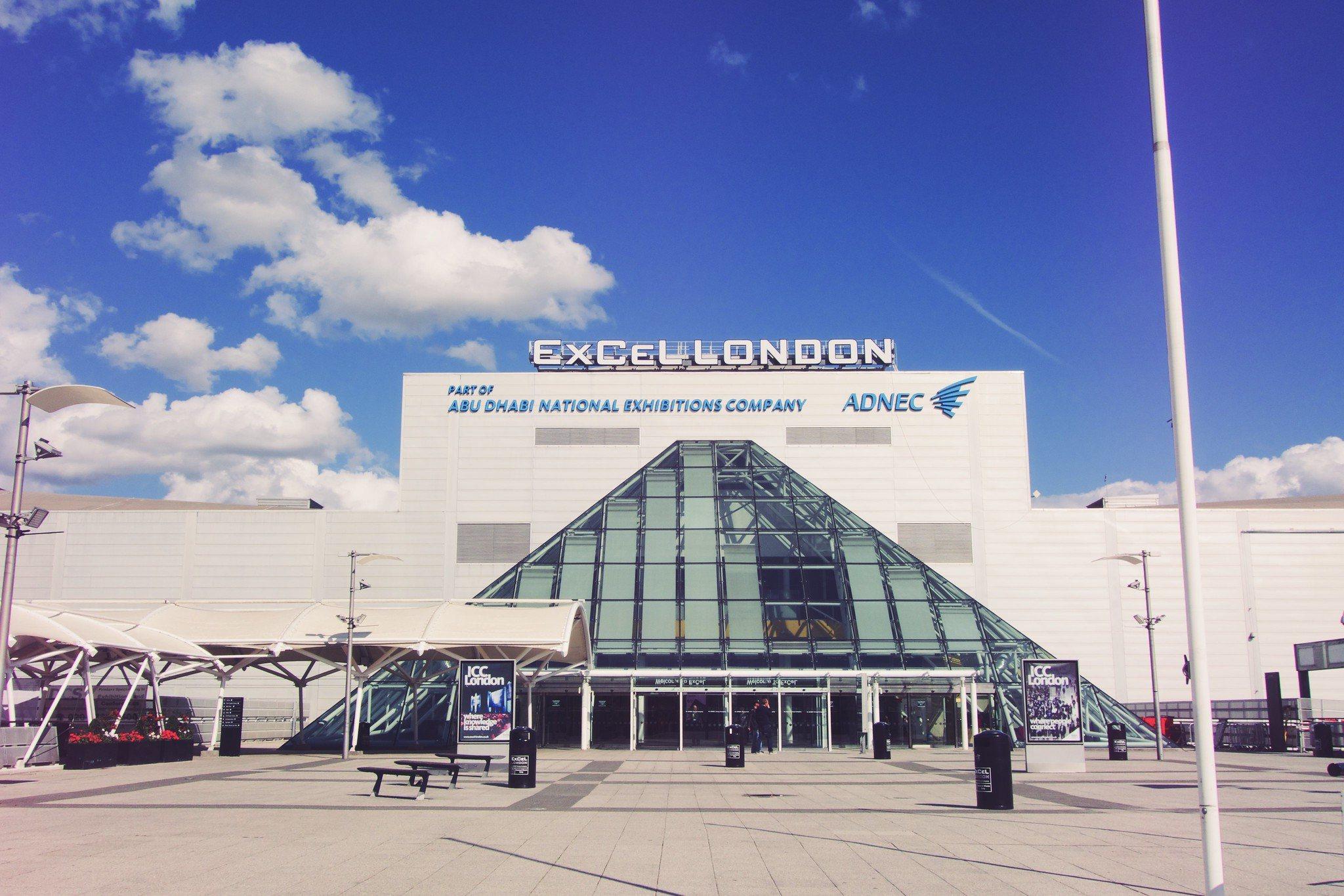 ExCel London, Gebäude, Glasdach