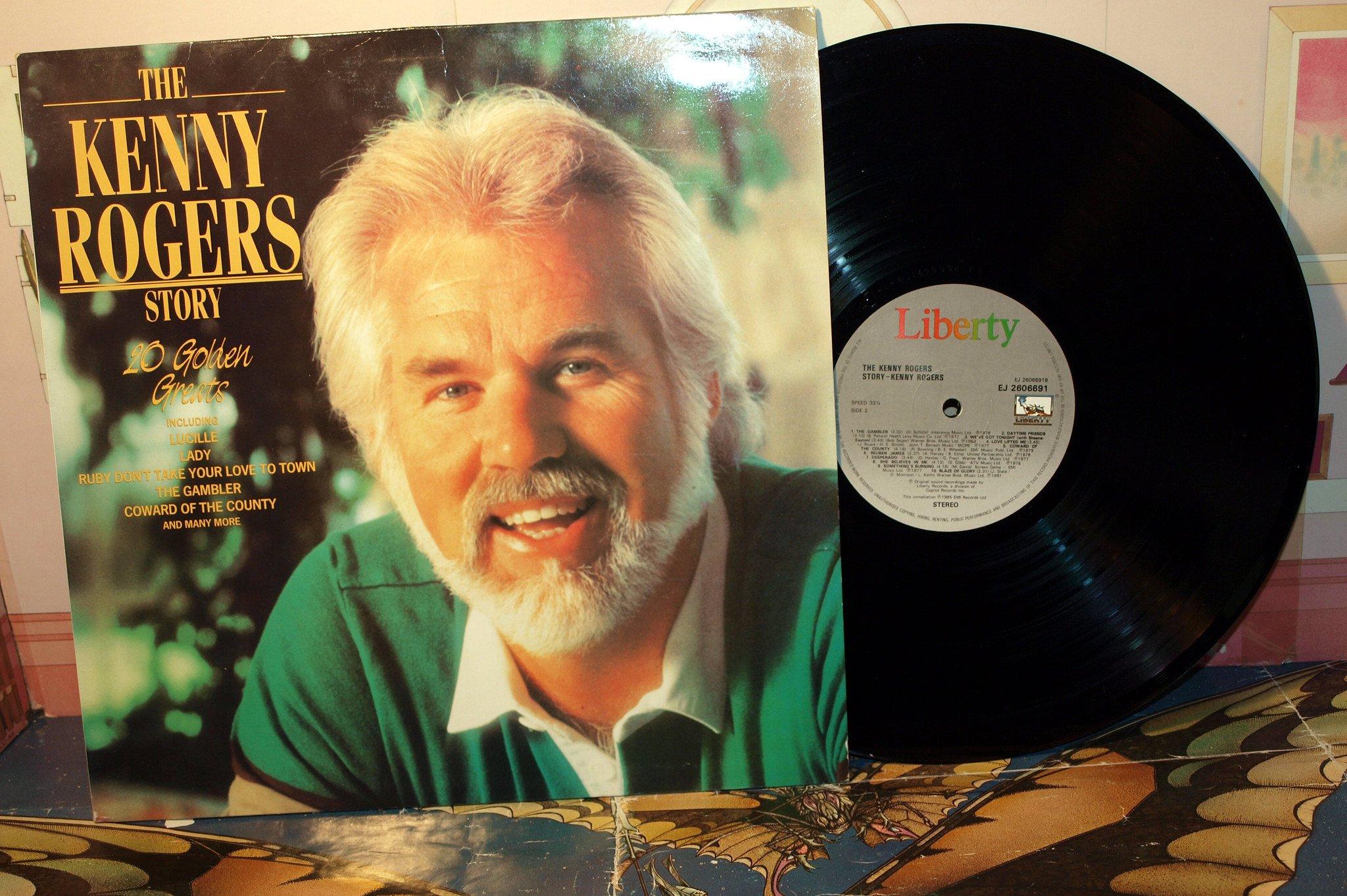 Kenny Rogers, Schallplatte, Plattencover