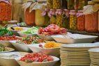 Buffet, Speisen, Einmachgläser