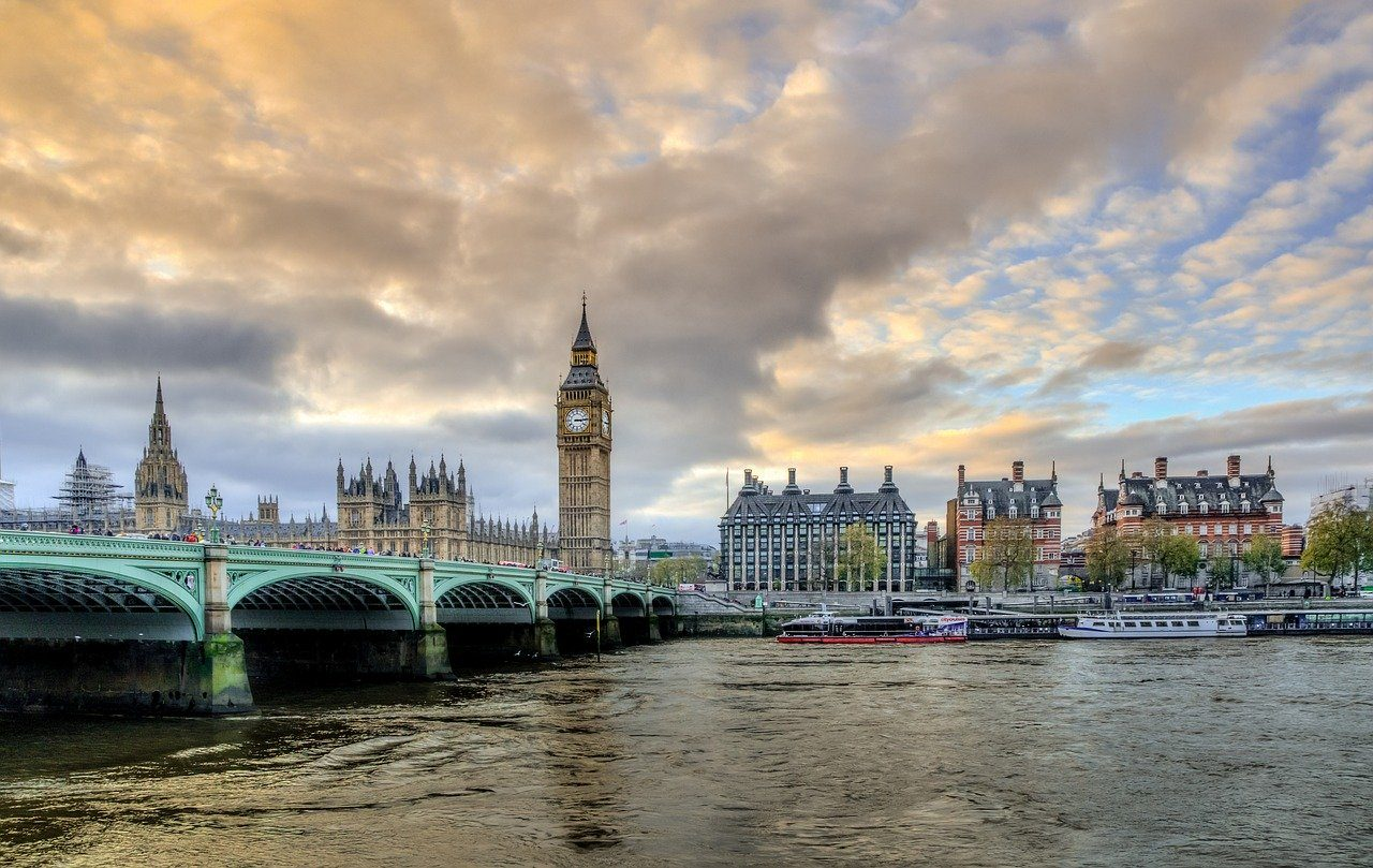 London, Themse, Big Ben