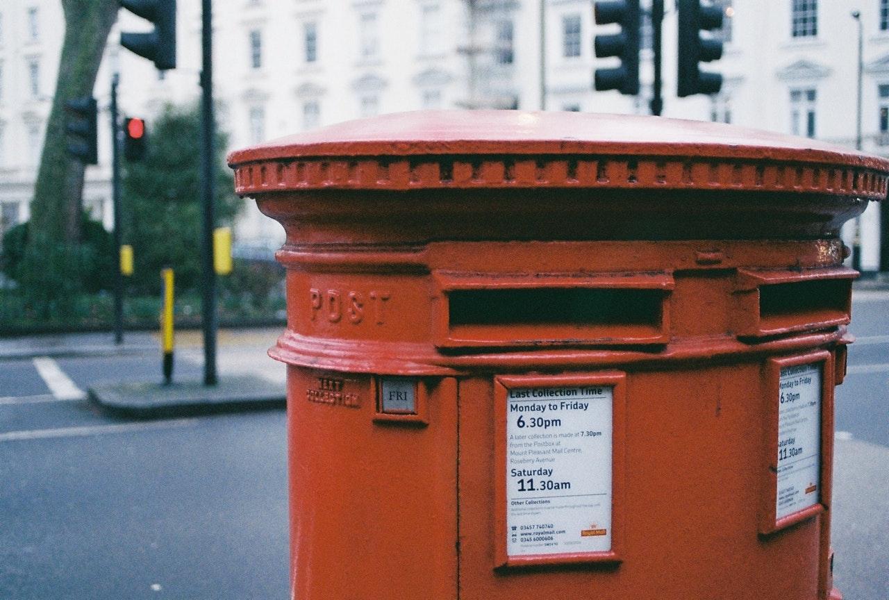 Royal Mail Briefkasten