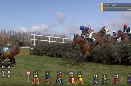 Virtuelle Pferde, Hindernisrennen