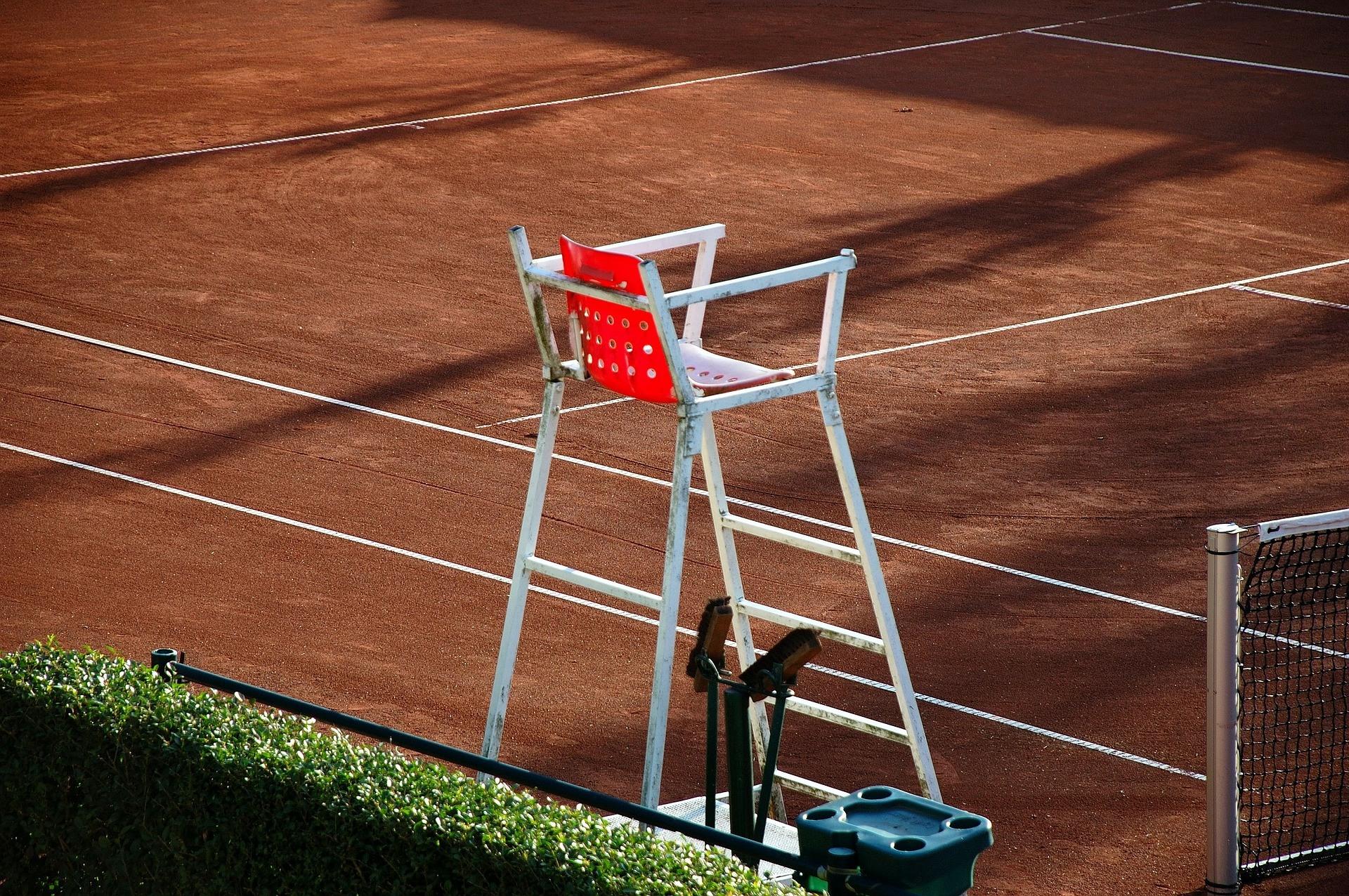 Hochstuhl Tennis-Schiedsrichter