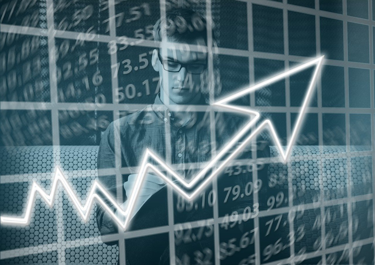 Umsatz, Gewinn, Grafik, Geschäftszahlen