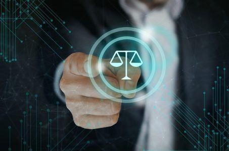 Gesetz, Hand, Waage, Justiz