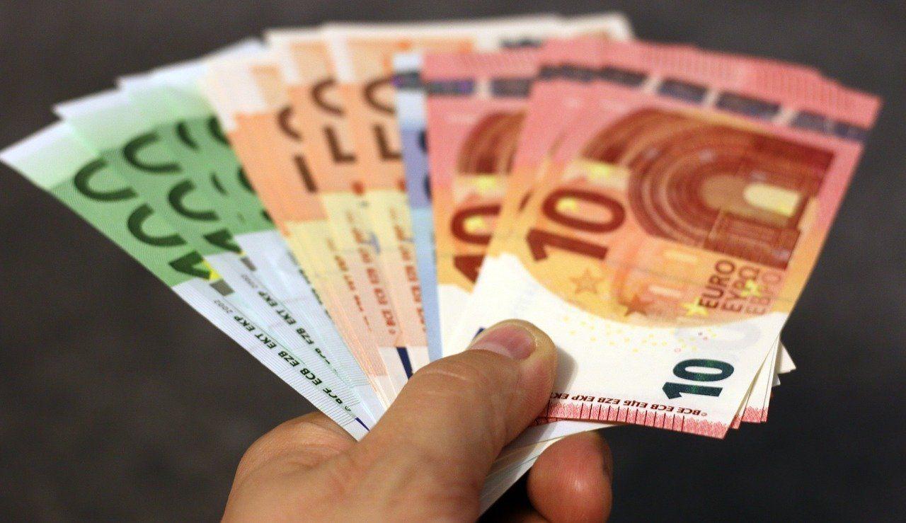 Hand Geldscheine