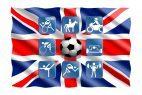 Sport, Fahne Großbritannien