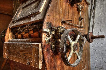 Spielautomat, historischer Spielautomat