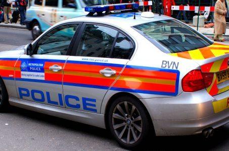 Polizeiwagen Großbritannien