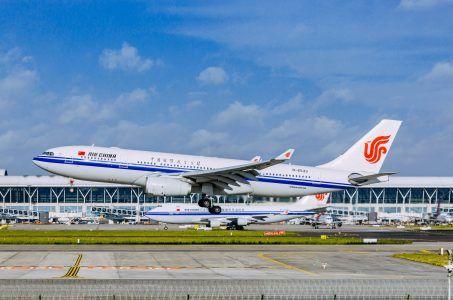 Air China Flugzeug