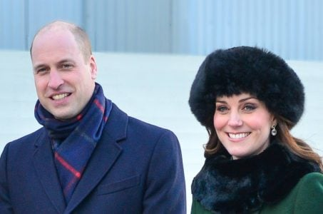 Herzogin Kate und Prinz William im Winter