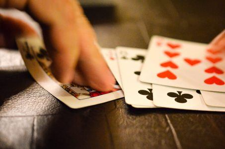 Spielkarten, Hand