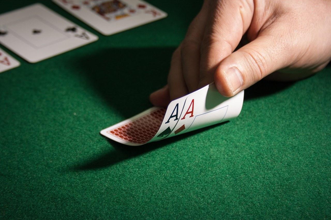 Hand, Spielkarten, Asse