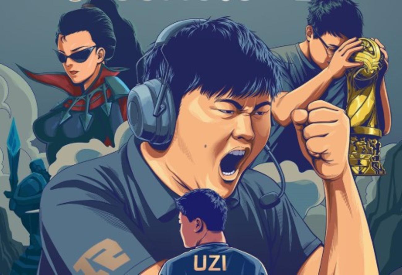 Jian Zi-Hao, Uzi, chinesischer E-Sportler