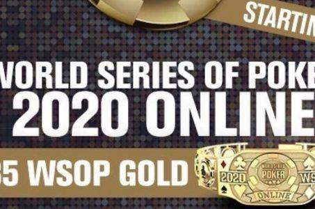 WSOP 2020 online Logo
