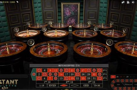 12 Roulette-Räder