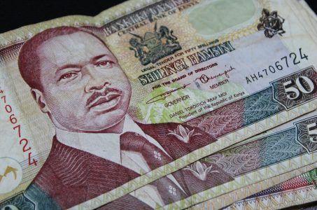 Banknote Kenia Schilling