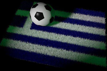 Fußball, griechische Flagge