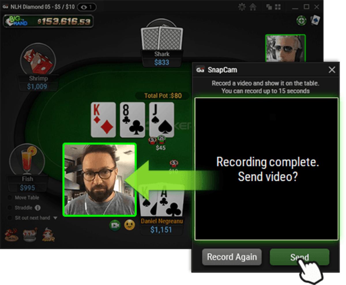 Pokertisch, Spielkarten, Daniel Negreanu