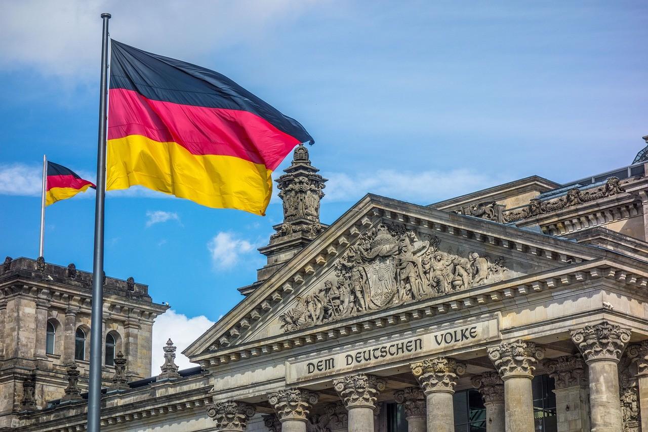 deutsche Flagge, Bundestag
