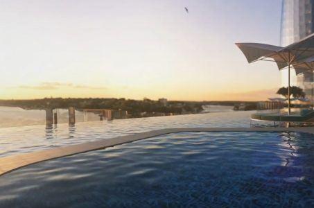 Schwimmbad, Gebäude
